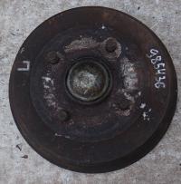 Барабан тормозной Ford Fiesta (1989-1995) Артикул 52502289 - Фото #1